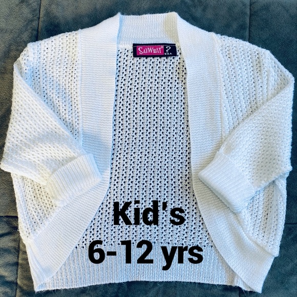 Say What? Other - ✂️$5 Sweater Shrug Kid's 6-12 Yrs